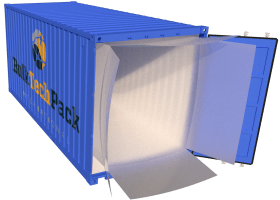 Open ended container liners